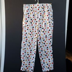 Disney Mickey Mouse Pajama Lounge Pants Size Large